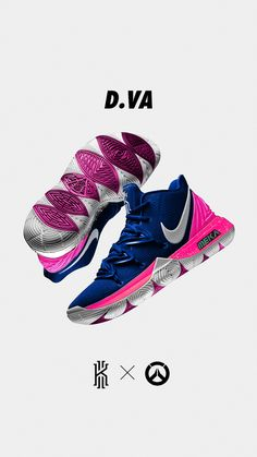 Nike Kyrie 5 X Overwatch-Konzepte für Behance - Schuhe Zapatillas Nike Basketball, Zapatillas Nike Air, Kyrie 5, Nike Kyrie, Nike Lebron, Basketball Shoes Kyrie, Basketball Court, Basketball Legends, Nike Tennis