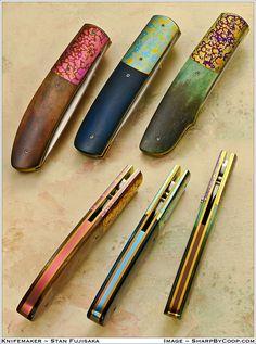 Stan Fujisaka Folding Knives.