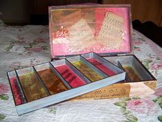 Photo 2 of Sold Mixed Media, Decorative Boxes, Artsy, Led, Storage, Frame, Music, Crafts, Purse Storage