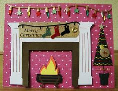 cricut Joys of the season card Cricut Christmas Cards, Cricut Cards, Christmas Scrapbook, Christmas Greeting Cards, Christmas Greetings, Holiday Cards, Christmas Projects, Christmas Holidays, Christmas Ornaments
