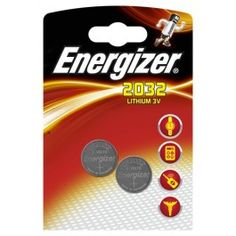 """ENERGIZER - Pile """"bouton"""" Cr2032 - Lot de 2"""