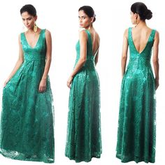 Boa tarde meninas!! Esse vestido verde lindo também está disponível para aluguel aqui na Laladress!!  #laladress #alugueldevestidos #formatura #casamento #madrinhas #party #lookperfeito