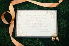 invitation design by PaperLionOnline.com photo by Amanda Watson