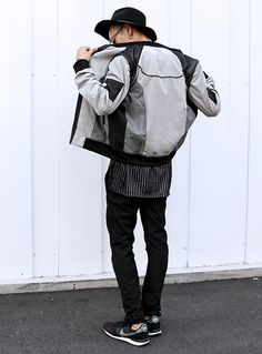 Athleisure street wear, urban style, bomber jacket. Item: Acrosphere X Nike
