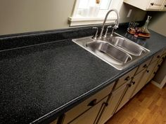 How to PAINT your laminate counter top for a fresh look without replacing it!