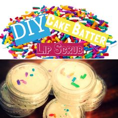 DIY EOS Cake Batter Lip Scrub!!!! Products from BlissBalm JOIN VIP EMAIL CLUB for 20% Discount Code, Sneak Peeks & First looks at New Collections! http://eepurl.com/cbTEdj