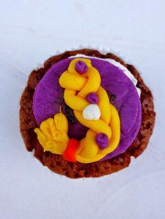 cupcake tresse raiponce / rapunzel hair