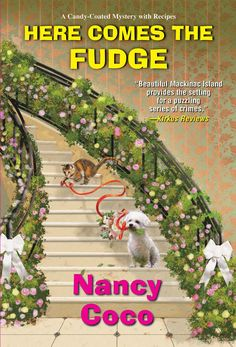 Fudge shop owner Allie McMurphy never expected her maid of honor duties to include clearing the groom of murder... Fudge Shop, Kensington Books, Mystery Series, Mystery Books, Mackinac Island, Here Comes, Cozy Mysteries, Sisters In Crime, Book Club Books