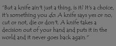 The Knife of Never Letting Go - Chaos Walking