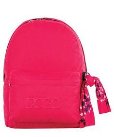 University Bag, Back To School, High School, Velvet Fashion, School Bags, Fashion Backpack, Polo, Backpacks, Style