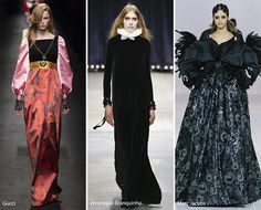 Fall/ Winter 2016-2017 Fashion Trends: Renaissance/ Victorian Style