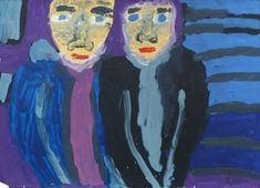 Eine Acrylmalerei von Benjamin Jahn The Outsiders, Painting, Fine Art, Pintura, Random Stuff, Kunst, Painting Art, Paintings, Painted Canvas