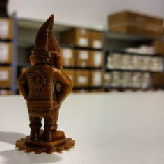 Never #gnome what the day will bring but we push forward with a little extra vigor thanks to #proto_pasta aromatic #coffee htpla #3dprinter #filament #3dprinting #3dprinted #3dprint #3dprints #3dprinters #3ddesign #3dhubs #makerbot #ultimaker #reprap #inspiration #instagood by proto_pasta