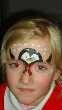 Christmas Face Painting Ideas.421 Best Face Paint Christmas Designs Images In 2019