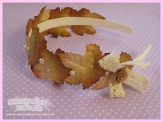 Autumn forest headband mori girl style