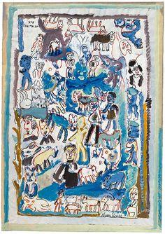 Krüsi, Hans Collage, Art Brut, Outsider Art, Inner Child, Aesthetic Anime, Oeuvre D'art, Les Oeuvres, Childrens Books, The Outsiders
