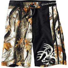 Men's God's Country Camo Lakeside Swim Shorts  deergear.com #LegendaryWhitetails