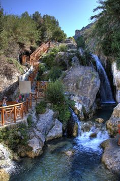 Algar watervallen, Alicante