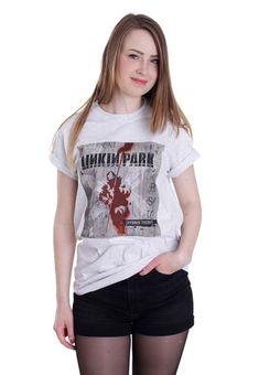 b8caa195 Linkin Park - Hybrid Theory White - T-Shirt - Official Rock Merchandise Shop  -