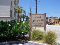 Villa Madeira sign