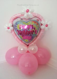 Happy Mothers Day Pink Balloon Display £6 https://www.facebook.com/photo.php?fbid=425056147587330=a.423337864425825.97437.352718118154467=3