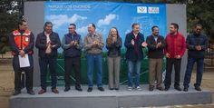 Inicia construcción del campo de futbol de Los Encinos de Tecate