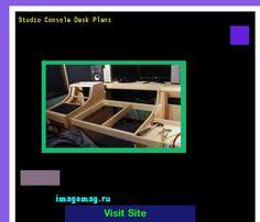 Studio Console Desk Plans 183251 - The Best Image Search