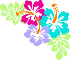hawaiian flower clip art tropical plants clip art vector clip art rh pinterest com hawaiian clip art free hawaii clip art free printables