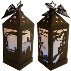 JMRush Designs: Spooky Lantern (Flameless)