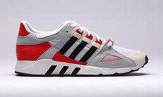 buy popular 44f76 a3d3a adidas Originals Summer 2014 EQT Guidance 93 Red Sneakers, Adidas Sneakers,  Sneaker Release,