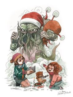 Christmas P'fnaghby Boulet