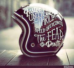 retro helmet art