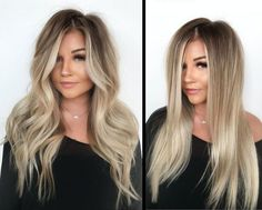 Are you looking for best hair colors to apply for long hair? Just see here, we have made a collection of fantastic long balayage colored hairstyles Black To Blonde Hair, Ash Blonde, Blonde Hair With Dark Roots, Golden Blonde, Blonde Highlights On Dark Hair All Over, Dark Roots Blonde Hair Balayage, Brown Hair, Blonde Hair For Brunettes, Summer Hair Color For Brunettes