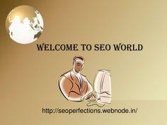 welcome-to-seo-world by vaibhav vibhute via Slideshare
