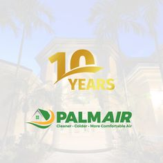 This year marks the anniversary of 10 amazing years serving South Florida with premium commercial and residential HVAC services. #10Years