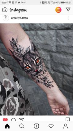 portrait tattoo on hand ; face portrait tattoo on hand ; dog portrait tattoo on hand ; hand tattoos for women portrait Pretty Tattoos, Cute Tattoos, Body Art Tattoos, Hand Tattoos, Sleeve Tattoos, Cat Portrait Tattoos, Tattoo Drawings, Black Cat Tattoos, Animal Tattoos
