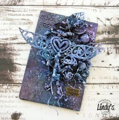 Mary's Crafty Moments: 'Explore' - DT Mixed Media Canvas for Lindy's Stam...