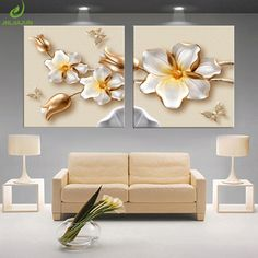 Lotus White Flower Canvas Print Poster Modular Pictures Paintings For The Kitchen Picture Of The Room Nordic Decoration 2 PCS. Subcategory: Home Decor. Pictures For Kitchen Walls, Living Room Pictures, Wall Art Pictures, Canvas Pictures, Living Room Canvas Painting, Canvas Wall Decor, Canvas Art Prints, Canvas Paintings, Plaster Art
