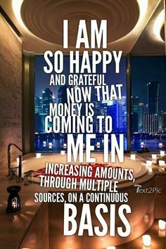 Prosperity Affirmations, Affirmations Positives, Money Affirmations, Mantra, Law Of Attraction Money, Law Of Attraction Quotes, Manifestation Law Of Attraction, Law Of Attraction Affirmations, Lottery Winner