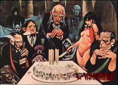 Uncle Creepy, Cousin Eerie, and Vampirella