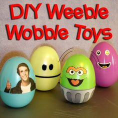 PHYSICS! Science for Elementary Weeble Wobble DIY