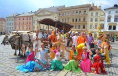 Padayatra walking festival in the Czech Republic (Album with photos) Srila Prabhupada: The chanting of the holy name of Krishna…