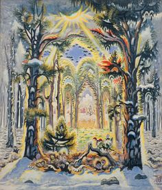 The Four SeasonsBlistering Vision: Charles Burchfield's Sublime American Landscapes