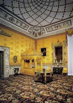 Florence, Italy:  Pitti Palace Musuem (art and apartments)  King Bedroom