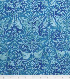 Susan Winget Quilt Fabric- Wisdom Tonal Torquoise