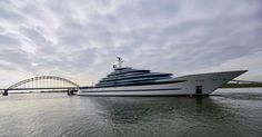 Oceanco launches the largest yacht ever built in The Netherlands | Skipper ONDECK