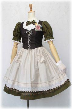 Victorian Maiden JSK Lolita Fashion