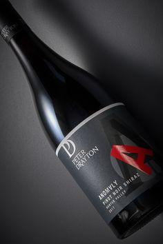 Studio: Harcus Design Designer: Annette Harcus Bottle Photography: Stephen Clarke Wine Case, Pinot Noir, Wines, Designer, Studio, Bottle, Glass, Drinkware, Flask