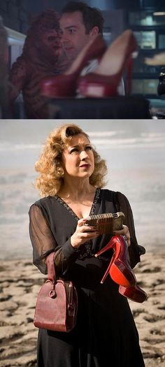 F.Y.I.: River Song's pumps are a weapon of mass destruction. There they are in The Black Archive.