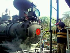 WHAT IS THERE NOT TO LIKE ABOUT THIS TRAIN? its a famous 1907 steam locomotive or our 1941 GE 45 ton center cab locomotive. , Wild West Shoot-Outs and our fantastic trips to the North Pole. Our staff is dressed in period costumes and you are stepping back in time. Take photos, enjoy the stories and narration of the Tavares, Eustis & Gulf Railroad Conductor, and return with priceless memories to share for a lifetime. Our movie train gives you the opportunity to ride on the actual train that…